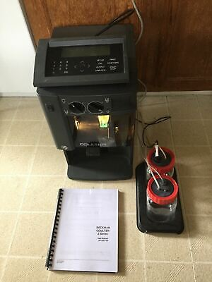 Beckman Coulter Z1 Particle Counter Rbc Wbc Pbc With Data Terminal Waste Diluent