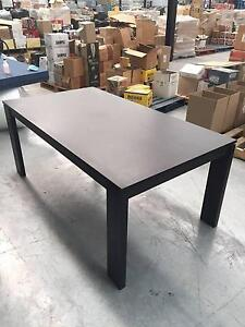 Tasmanian Oak Dining Table & Coffee Table (with 6 dining chairs) Pascoe Vale South Moreland Area Preview