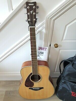 Yamaha FG720SL Left Handed Solid Top Acoustic Guitar with padded bag
