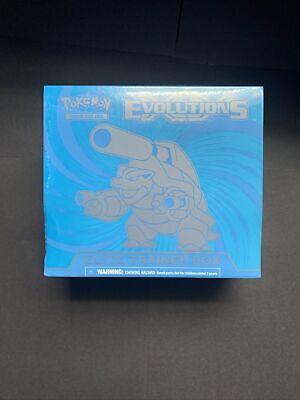 Pokemon XY Evolutions Elite Trainer Box: Mega Blastoise-EX Edition Factory Seal