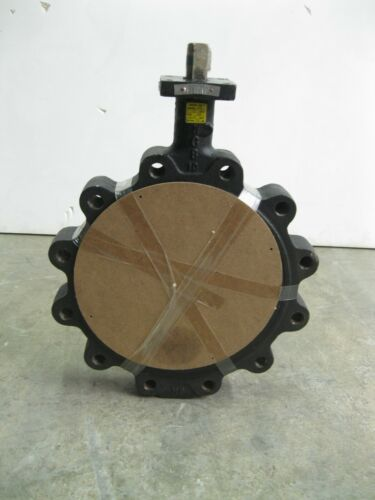 "10"" Crane Center Line 225 Lug Butterfly Valve CS/Al Br/BUNA NEW Z28 (2524)"