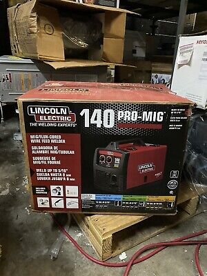 New Lincoln Electric 140 Pro Mig Flux Corded Wire Feed Welder K2480-1