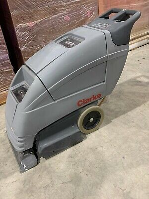 Clarke Image-20ix Electric Commercial Walk Behind Carpet Extractor Cleaner