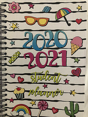 2020-21 Planner Weekly Page Format For Homeschool