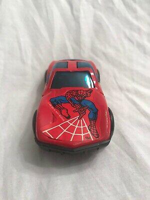 VINTAGE SPIDER MAN BUDDY L SPIDER CAR 1980 MARVEL VEHICLE TOY