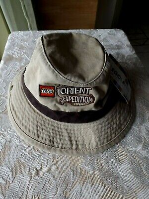 LEGO ORIENT EXPEDITION DRAWSTRING SAFAFI HAT * LEGOLAND * NEW WITH TAGS * YOUTH