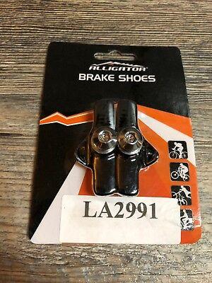 Alligator Brake Shoes Road Brake 53mm Black Block Cartridge Pads Best (Best Road Cycling Shoes)