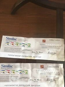 Similac formula coupons for trade!