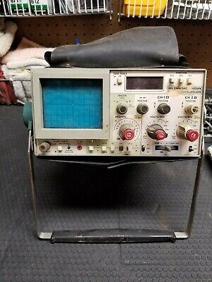 Tektronix 305 Dmm Oscilloscope Manual And Probes