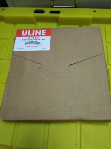 "U-LINE S-11330 STAINLESS STEEL STRAPPING  3/4""  x .030 x 100"