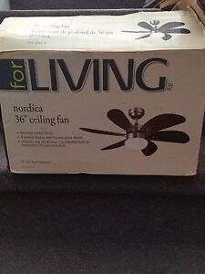 "Nordica 36"" Ceiling Fan"