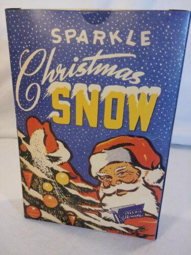 Sparkle Christmas Snow Vintage 1940