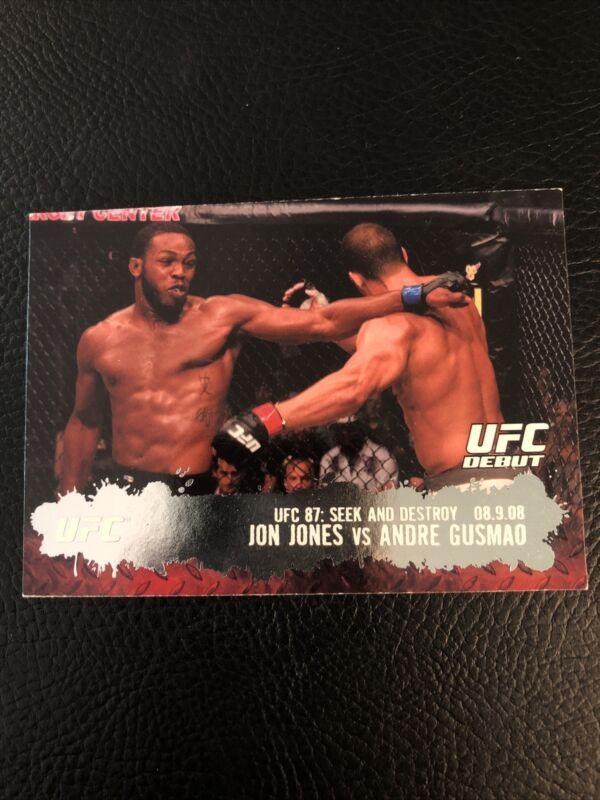 2009 Topps UFC Round 2 Jon Jones Bones RC Rookie Card #101-