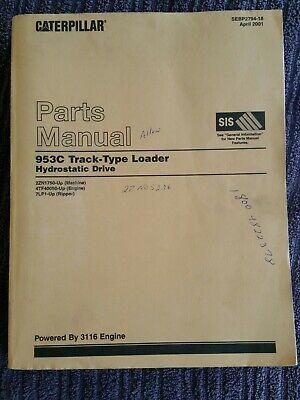 Caterpillar 953c Parts Manual
