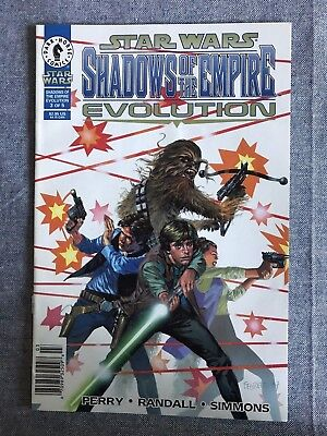 Star Wars Shadows Of The Empire Evolution 3 Newsstand Variant Dark Horse NM