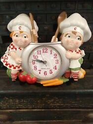 Vintage Campbells Soup Kids New Haven Quartz 1990 Wall Clock