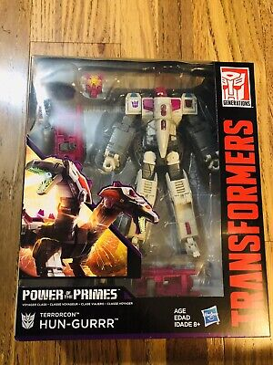Transformers Terrorcon Hun-Gurrr Voyager Class Generations Power of the Primes