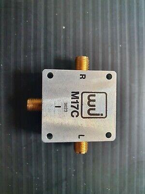 Wj M17c Watkins Johnson 6-16ghz Sma Rf Coaxial High Frequency Mixer