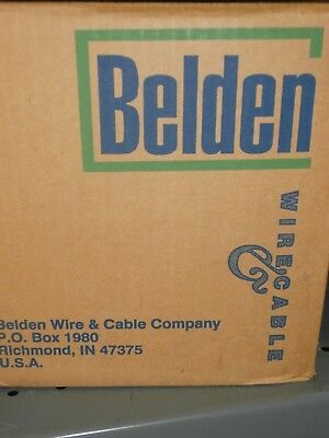 83009-500 Ft Belden White Hi-temp Teflon 18awg Silver Coated Hook Up Wirenos