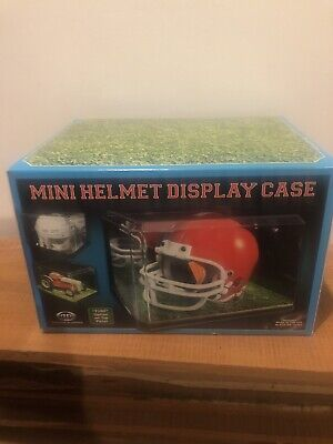 Pioneer Plastics Clear Acrylic Mini Helmet Display Cases 8 X 6 X 5