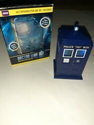DOCTOR WHO BBC TARDIS PROJECTION ALARM CLOCK