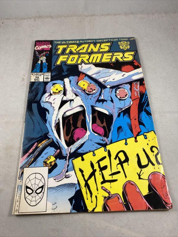 TRANSFORMERS #70 (MARVEL 1990) LOW PRINT RUN/ RARE