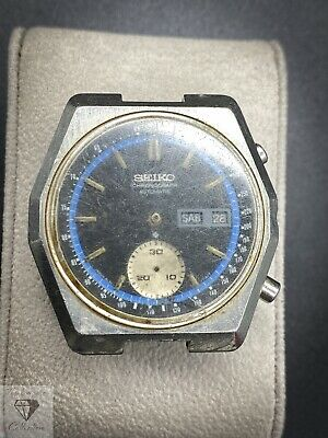 Vintage Seiko 6139-7080 Automatic Chronograph - Nice Dial - For Parts (125.9)