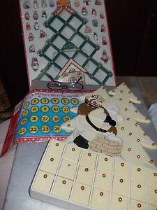 Advent calendars wooden(& Christmas decorations) Mosman Mosman Area Preview