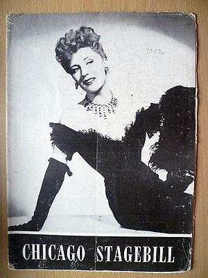 December 1942 -Selwyn Theatre Chicago Stagebill- THE MERRY WIDOW- Muriel Angelus