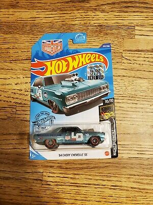 Hot Wheels 2020 Super Treasure Hunt '64 CHEVY CHEVELLE * FACTORY SEALED *