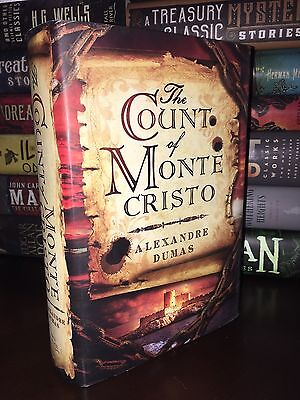 The Count of Monte Cristo by Alexandre Dumas New Hardcover Edition