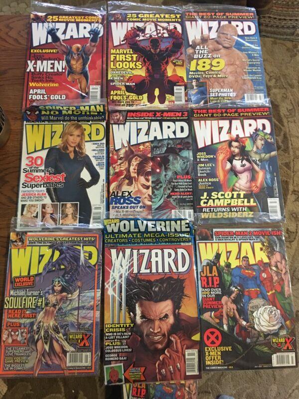 wizard comic magazine