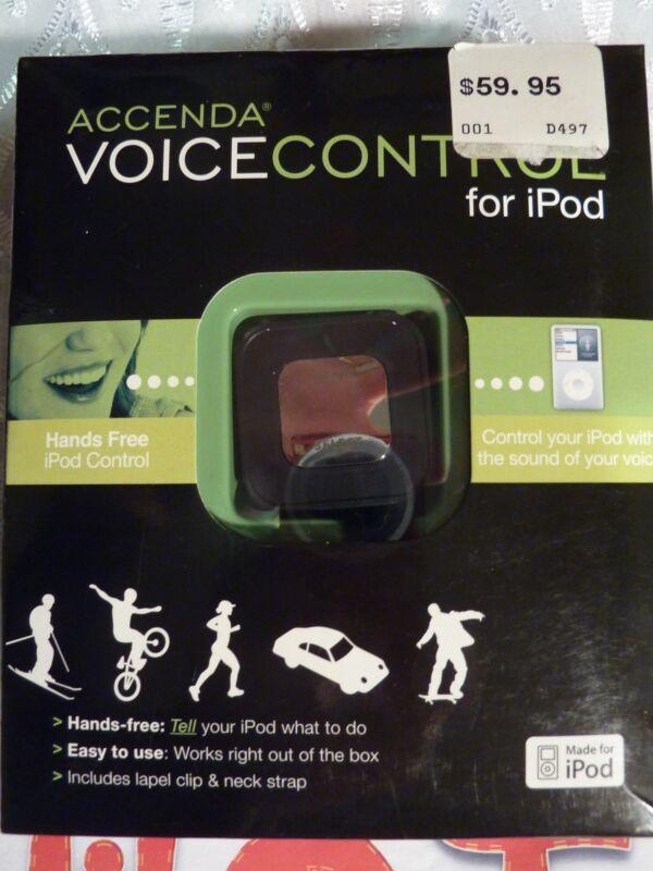**Handy** Accenda Hands Free Voice Control for iPod - Black - Model:  VR600blk