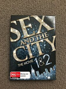Sex and the City, The Movie 1 & 2 (DVD) Wembley Downs Stirling Area Preview