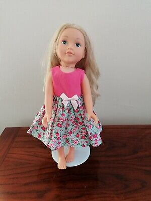 Handmade  Dress, 18 inch Doll Clothes , fits Design a Friend, New Generation