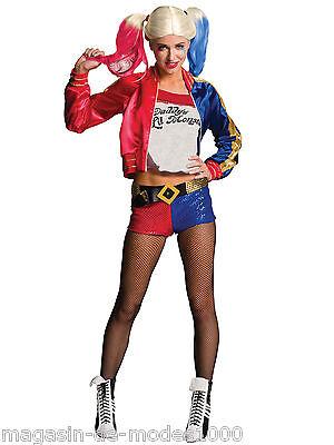 Lizenzware Harley Quinn Suicide Squad Kostüm  Halloween Fasching Karneval