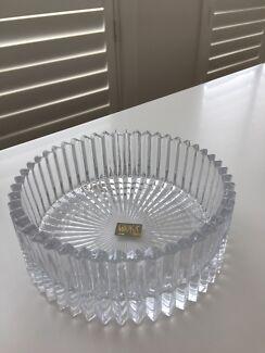 "Mikasa - 6"" glass bowl - very stylish - new in box"