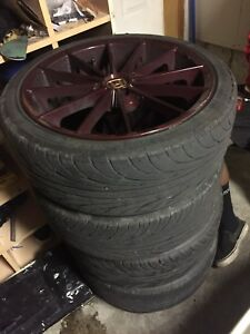 4x100 rims and tires