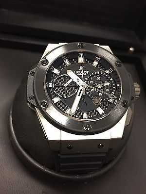 HUBLOT BIG BANG KING POWER ZIRCONIUM 48mm RATTRAPANTE REF# 709.ZM.1770.RX