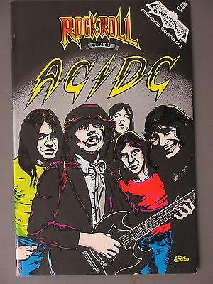 AC/DC comic Rock n Roll Comics 1990 #22  First Printing !