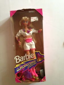 Rollerblade Barbie 1991 with Original Accessories and Box