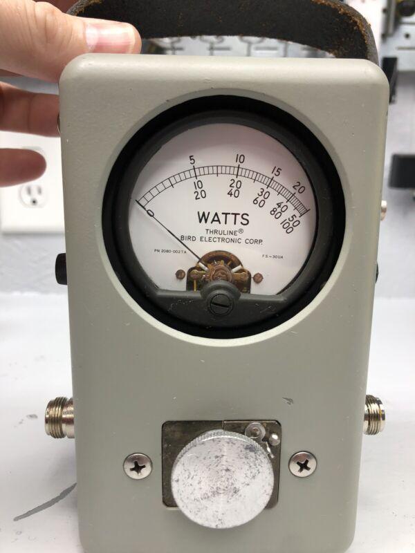 Bird 43 4430 Thruline Wattmeter - Very Nice - Non-smoker