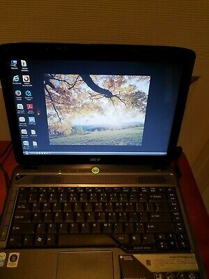 Acer Aspire 4730z 14 Laptop Windows Vista 3gb Ram 250gb Hdd + Charger