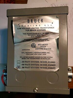 Bruck Low Voltage Lighting Transformer 300 Watt System