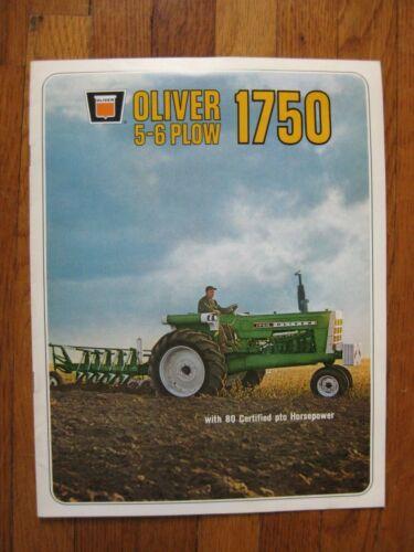 Oliver 1750 Tractor brochure
