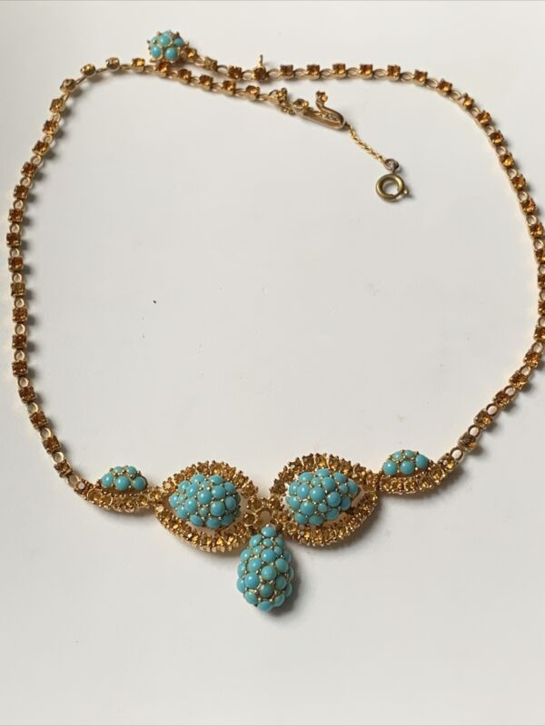 Beautiful Vintage Christian Dior By Mitchel Maer Necklace