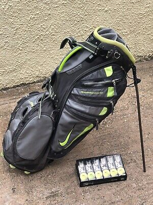Nike Stand Bag - Balls Included