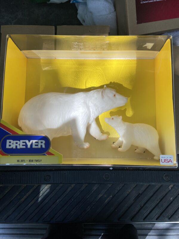NEW - Breyer Bear Family No. 3071 - Polar Bear & Cub