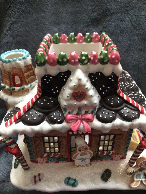 Party lite Gingerbread Village #3 Candy Depot Tealight P8637