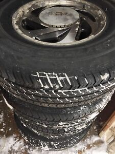All Season Truck/SUV Tires P235/75R14, Great Shape!